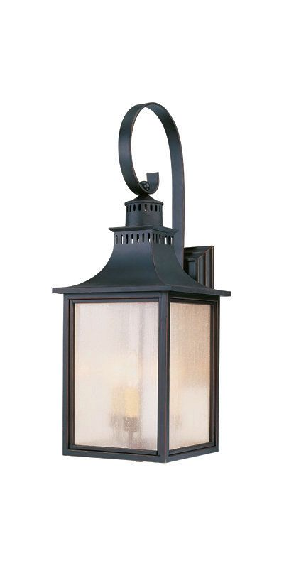 "Savoy House 5-259 Monte Grande 3 Light 26.75"" Tall Outdoor Wall Sconce"