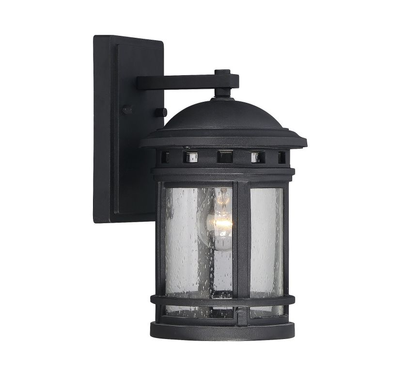 Savoy House 5-360 Upton 1 Light Outdoor Wall Sconce Black Outdoor