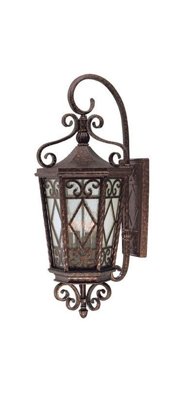 "Savoy House 5-426 Felicity 4 Light 36.375"" Tall Outdoor Wall Sconce"