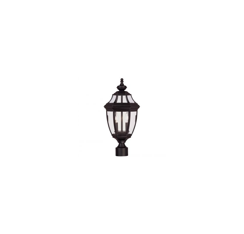 Savoy House 5-497 Two Light Post Lantern from the Endorado Collection Sale $190.00 ITEM: bci542058 ID#:5-497-BK UPC: 822920188152 :
