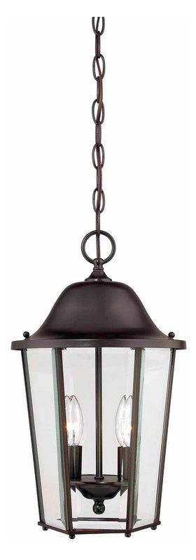 Savoy House 5-6210 Truscott 2 Light Outdoor Pendant English Bronze