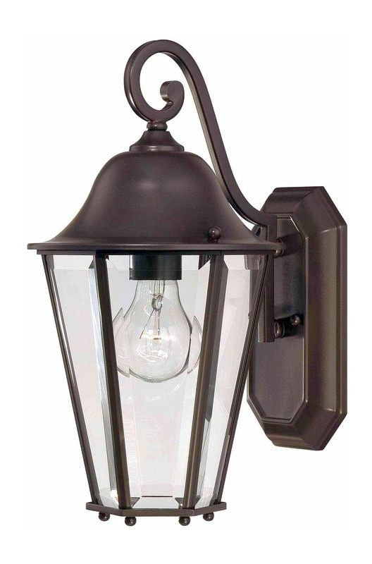 "Savoy House 5-6211 Truscott 1 Light 14"" Tall Outdoor Wall Sconce"