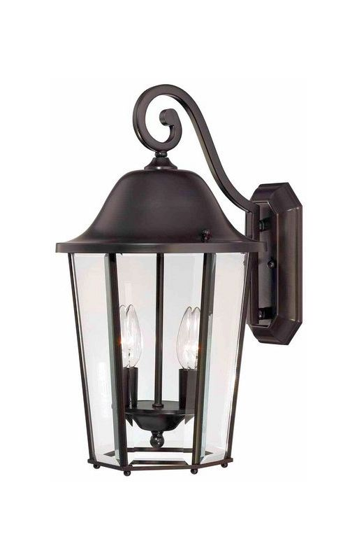 "Savoy House 5-6212 Truscott 2 Light 18"" Tall Outdoor Wall Sconce"