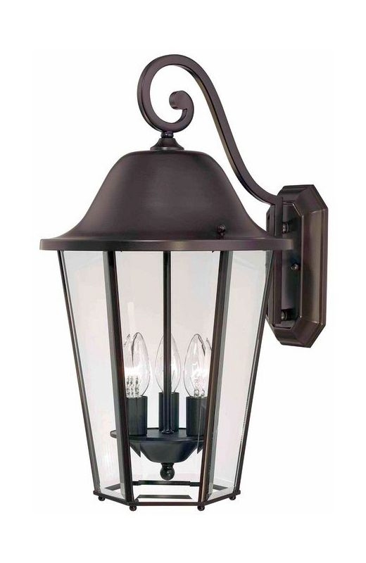 "Savoy House 5-6213 Truscott 3 Light 21"" Tall Outdoor Wall Sconce"