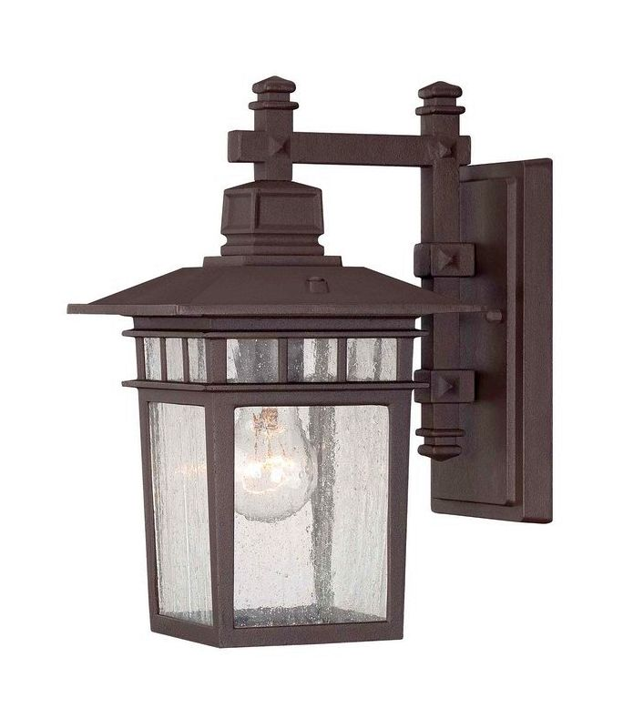 "Savoy House 5-9590 Linden 1 Light 12.5"" Tall Outdoor Wall Sconce"