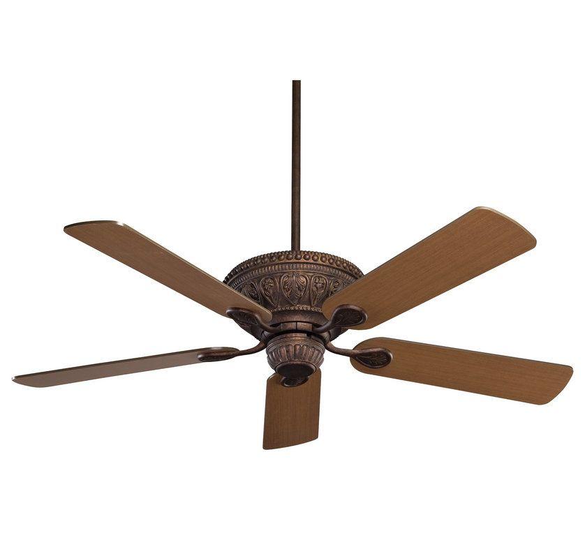 Savoy House 52-850-5 Indigo 5 Blade Ceiling Fan with Medium Wood