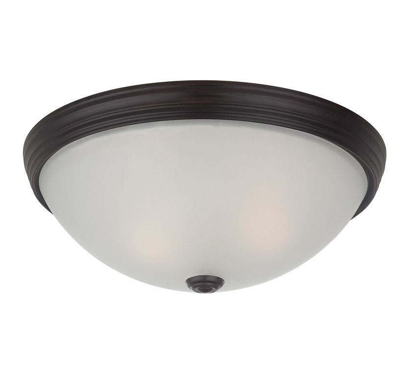 "Savoy House 6-780-13 Flush Mount 2 Light 13"" Wide Flush Mount Ceiling"