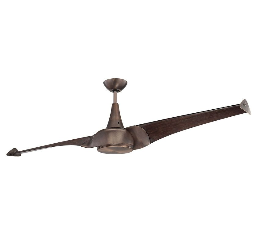 Savoy House 68-818-2 Ariel 2 Blade 1 Light Hanging Ceiling Fan with