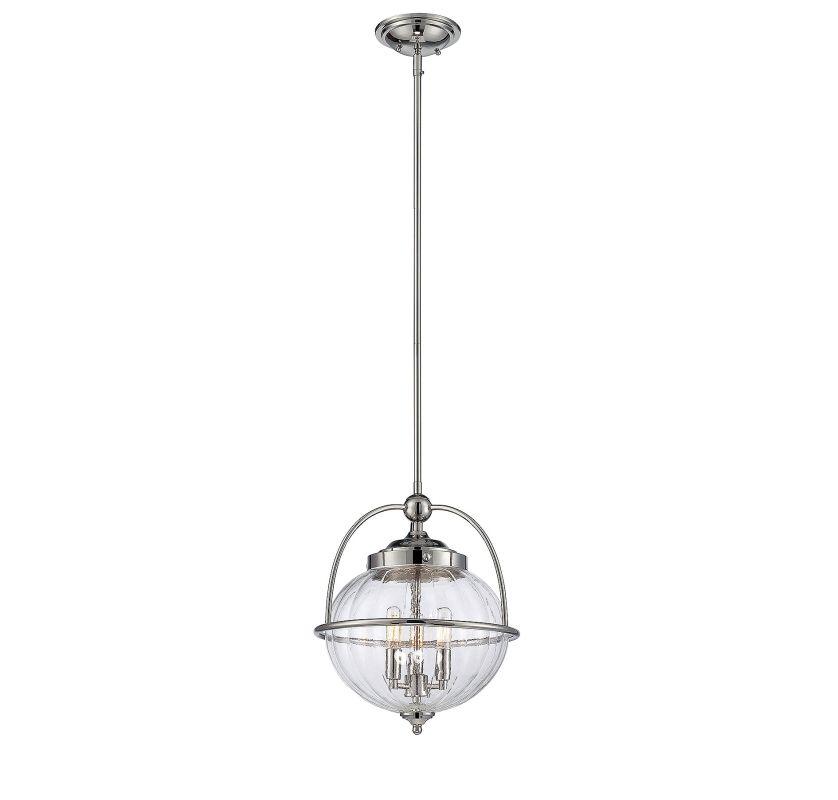 Savoy House 7-461-3 Banbury 3 Light Pendant Polished Nickel Indoor