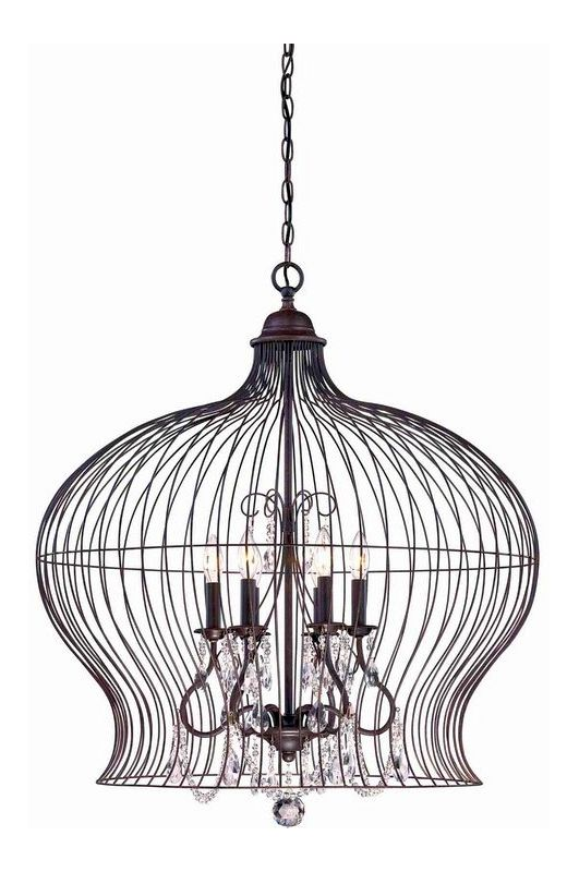 """Savoy House 7-6100-6 Abagail 6 Light 30"""" Wide 1 Tier Chandelier with"""