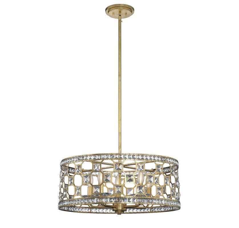 Savoy House 7-840-5 Clarion 5 Light Pendant Gold Bullion Indoor
