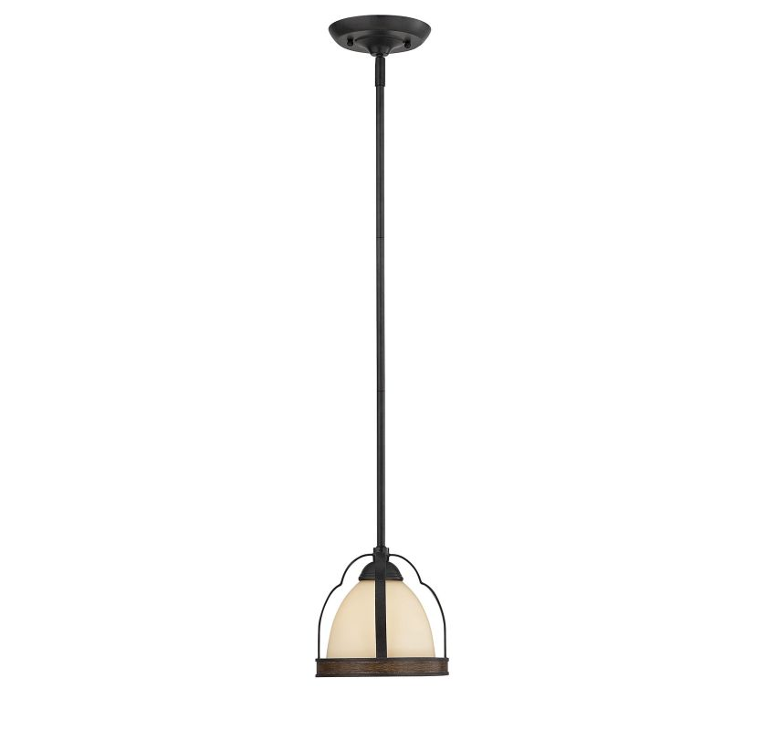 "Savoy House 7-8906-1 Kelsey 1 Light 8"" Wide Pendant Durango Indoor"
