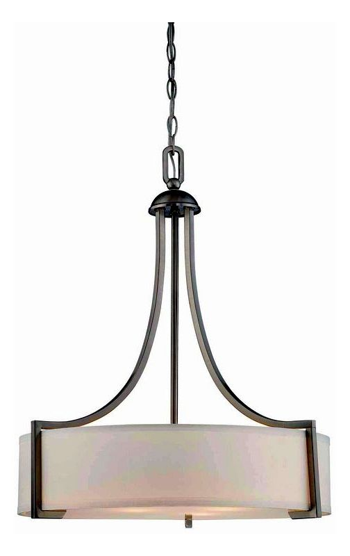 "Savoy House 7P-7216-3 Terrell 3 Light 22"" Wide Pendant Satin Nickel"