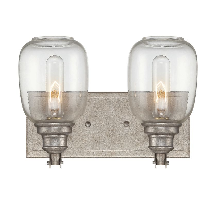 "Savoy House 8-4334-2 Orsay 12"" Wide 2 Light Bathroom Vanity Light"