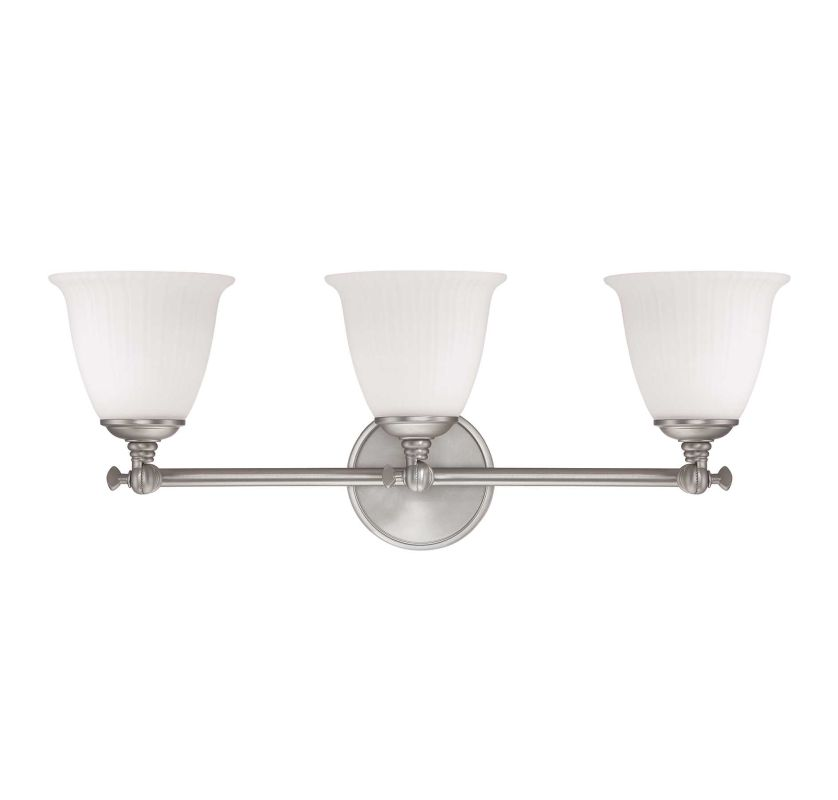 Savoy House 8-6830-3-69 Pewter Bradford Three Light
