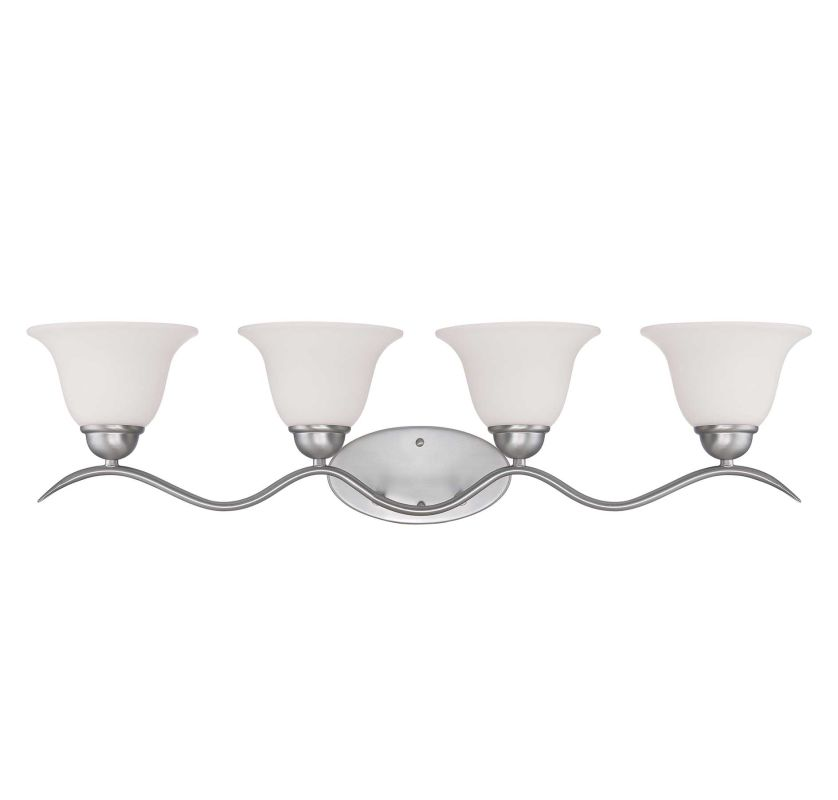 "Savoy House 8-6835-4 Eaton 32.5"" Wide 4 Light Bathroom Vanity Light Sale $138.00 ITEM: bci2175660 ID#:8-6835-4-69 UPC: 822920241437 :"