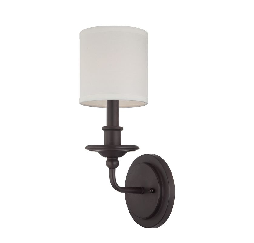 "Savoy House 9-1150-1 Aubree 1 Light 14.25"" Tall Wall Sconce English"