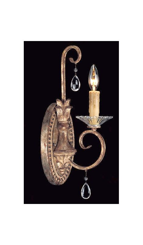 Savoy House 9-1396-1 Antoinette 1 Light Wall Sconce New Mocha Indoor Sale $160.00 ITEM: bci2603119 ID#:9-1396-1-256 UPC: 822920199080 :