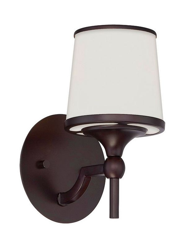 "Savoy House 9-4383-1 Hagen 1 Light 9.25"" Tall Wall Sconce English"