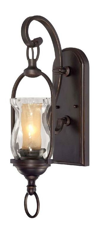 "Savoy House 9-6723-1 Shadwell 1 Light 21.25"" Tall Wall Sconce English"