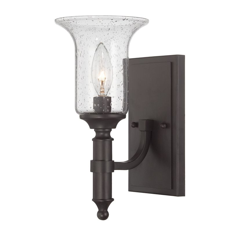 Savoy House 9-7134-1 Trudy 1 Light Wall Sconce English Bronze Indoor