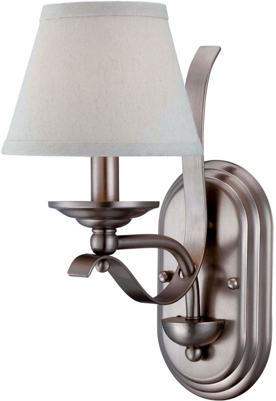 "Savoy House 9P-2179-1 Maremma 1 Light 12.5"" Tall Wall Sconce Pewter"
