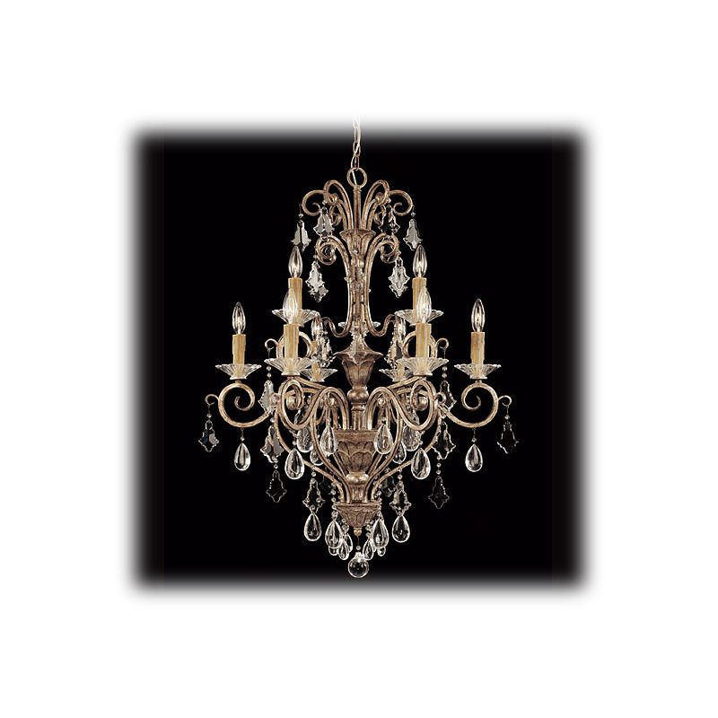 "Savoy House 1-1398-9 Antoinette 9 Light 28"" Wide 2 Tier Chandelier"