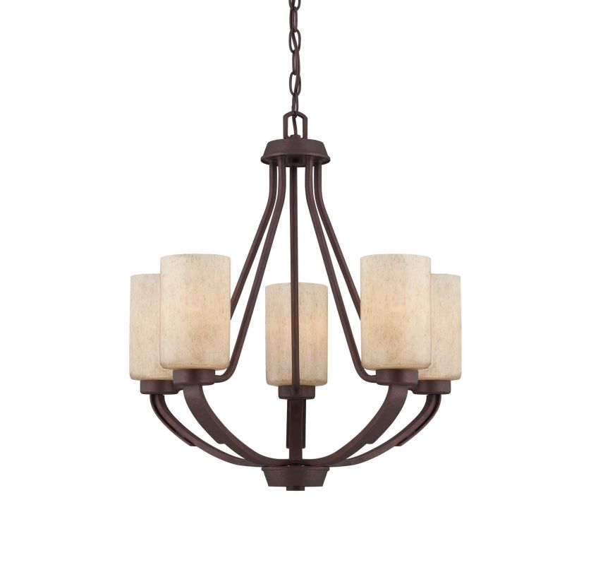 "Savoy House 1-5430-5 Berkley 5 Light 22"" Wide 1 Tier Chandelier"