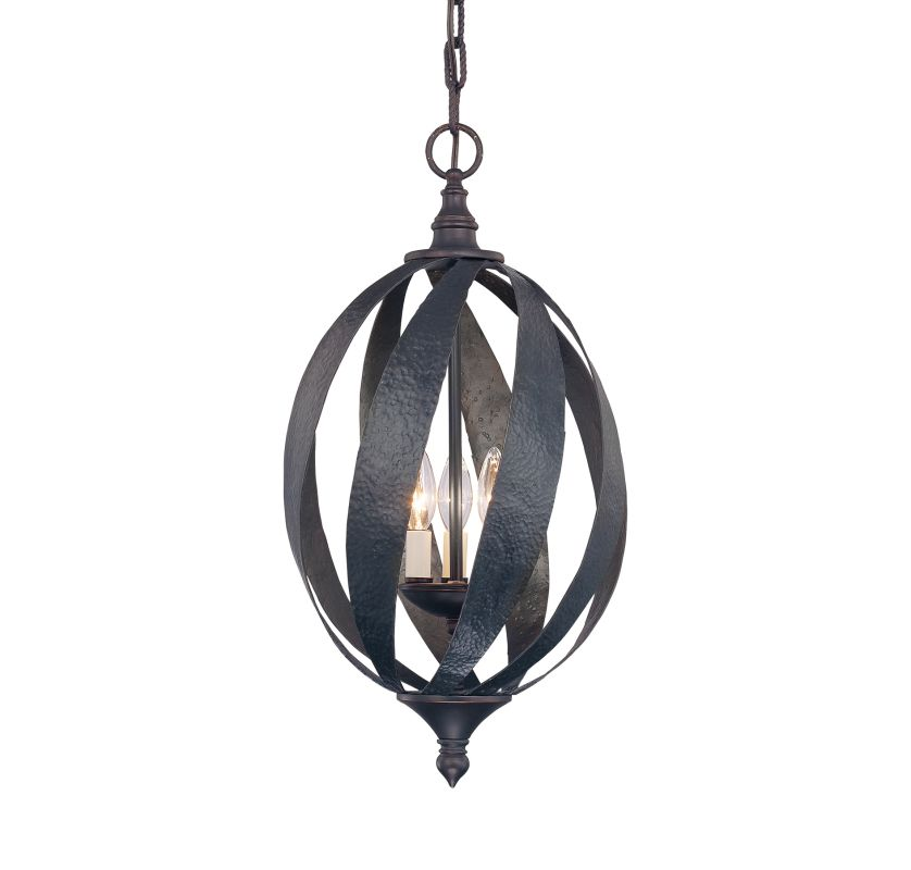 "Savoy House 3-225-3 Carmel 3 Light 12"" Wide Pendant Slate Indoor"