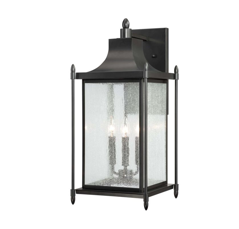 "Savoy House 5-3453 Dunnmore 3 Light 23.5"" Tall Outdoor Wall Sconce"