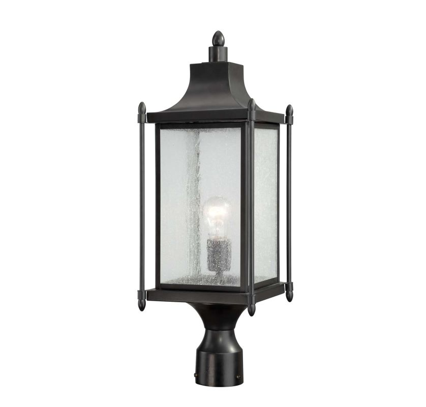 "Savoy House 5-3454 Dunnmore 1 Light 23.5"" Tall Single Outdoor Post"