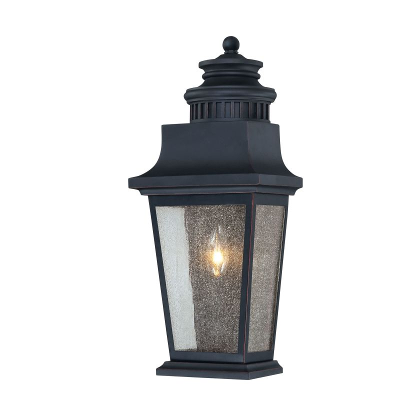 """Savoy House 5-3552 Barrister 1 Light 18.75"""" Tall Outdoor Wall Sconce"""