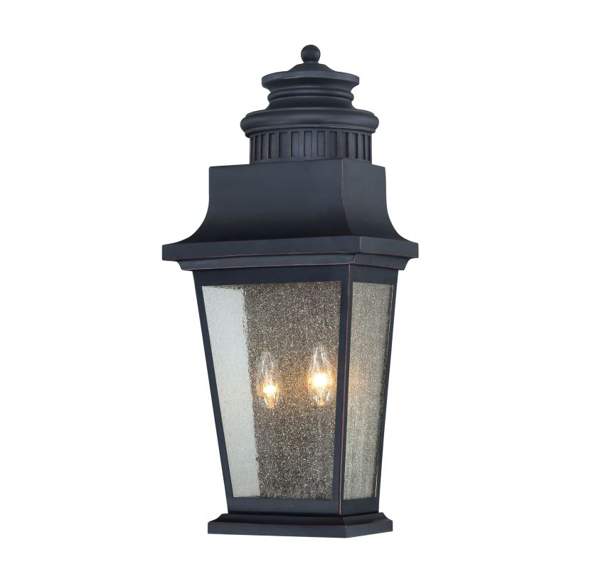 """Savoy House 5-3553 Barrister 2 Light 23"""" Tall Outdoor Wall Sconce"""