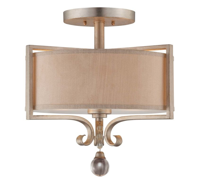 "Savoy House 6-258-2 Rosendal 2 Light 16"" Wide Semi-Flush Ceiling"