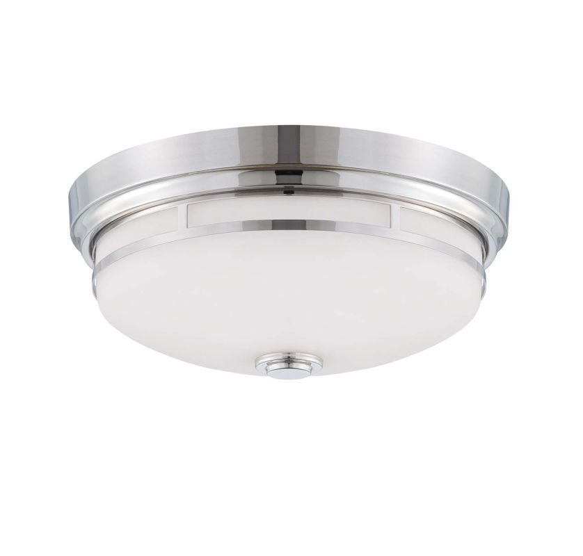 "Savoy House 6-3340-13 Flush Mount 2 Light 13"" Wide Flush Mount Ceiling"