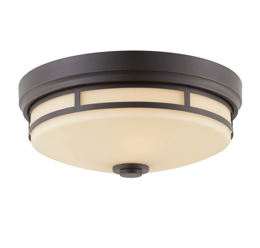 "Savoy House 6-3340-15 Flush Mount 3 Light 15"" Wide Flush Mount Ceiling"