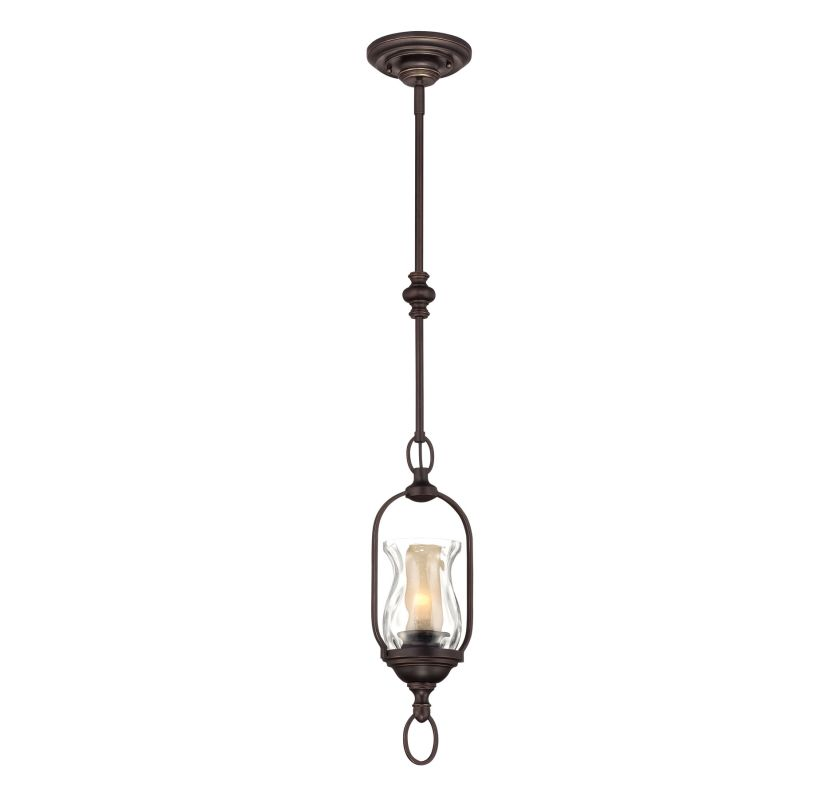 "Savoy House 7-6722-1 Shadwell 1 Light 6.25"" Wide Pendant English"