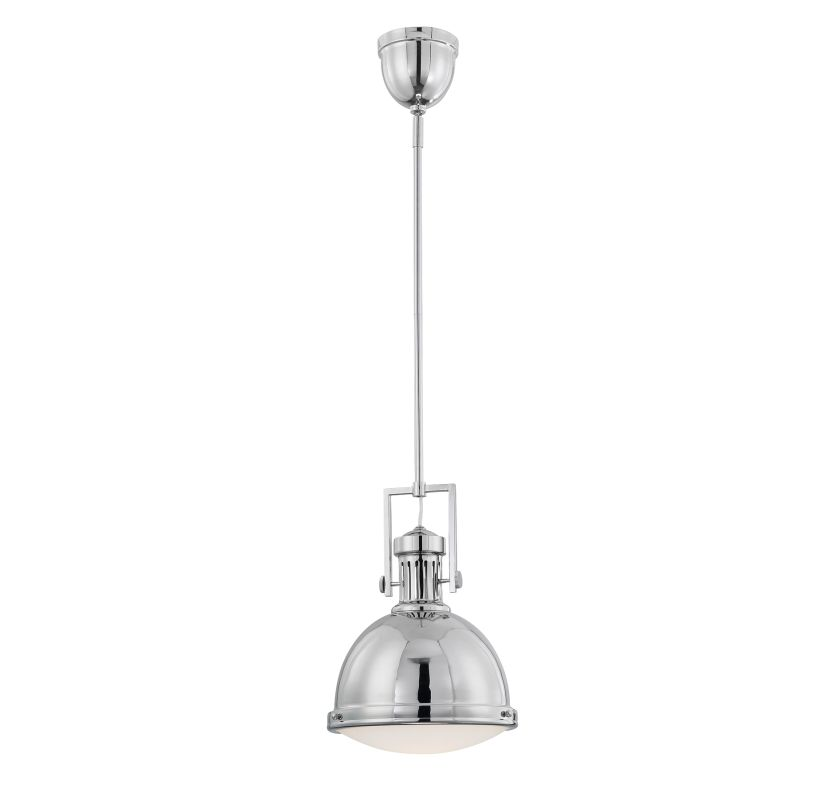 "Savoy House 7-730-1 Vintage Pendants 1 Light 11"" Wide Pendant Polished"