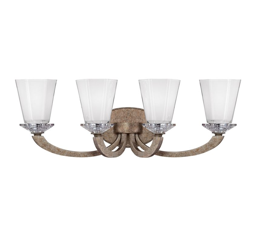 "Savoy House 8-1557-4 Forum 25.5"" Wide 4 Light Bathroom Vanity Light"
