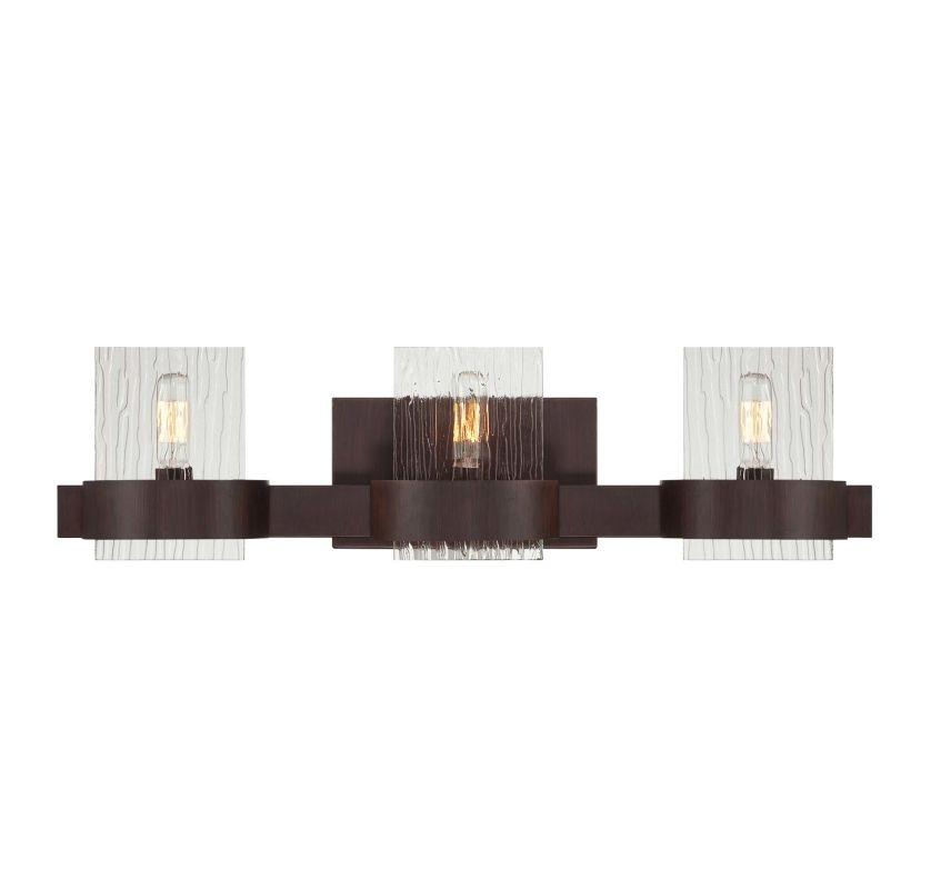 "Savoy House 8-3512-3 Brione 24"" Wide 3 Light Bathroom Vanity Light"