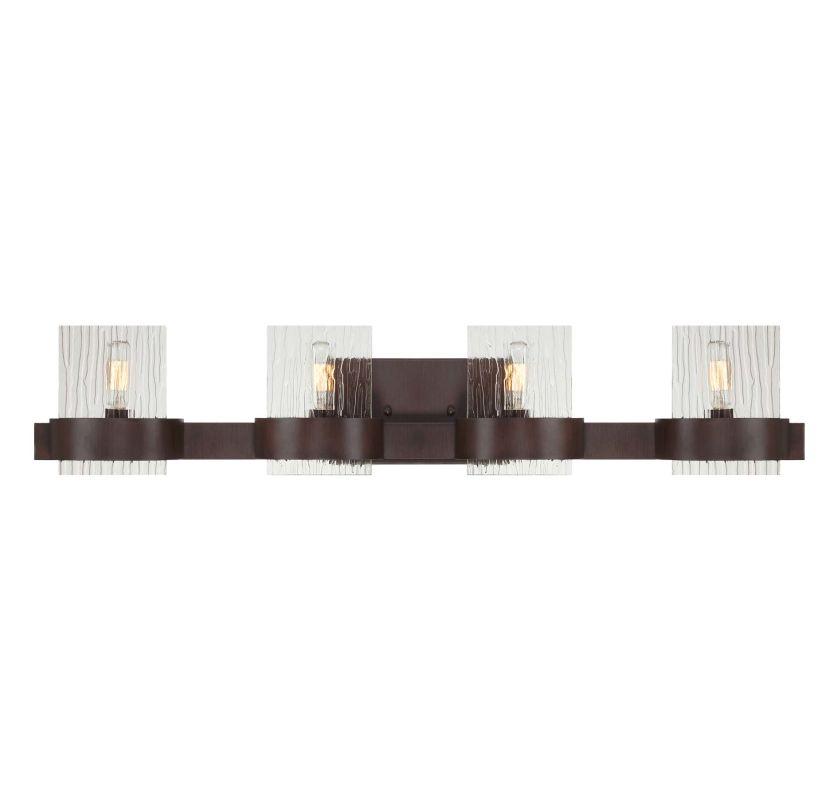 "Savoy House 8-3512-4 Brione 32.5"" Wide 4 Light Bathroom Vanity Light"