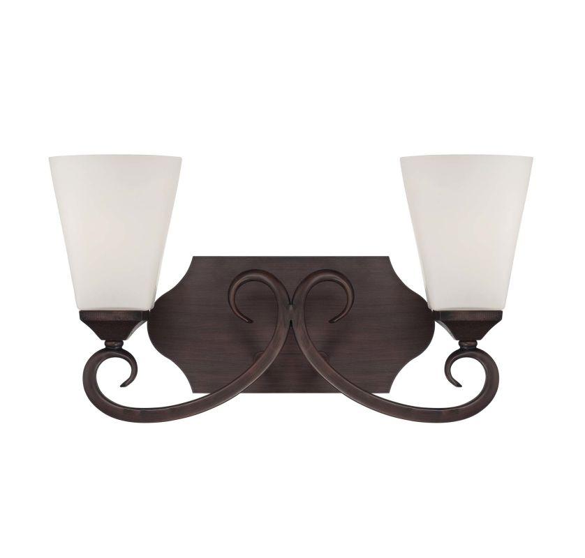 "Savoy House 8-4375-2 Nayah 15.5"" Wide 2 Light Bathroom Vanity Light"
