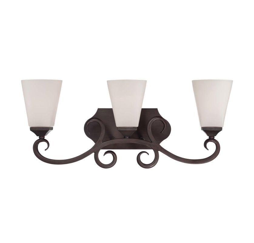 "Savoy House 8-4375-3 Nayah 22.5"" Wide 3 Light Bathroom Vanity Light"