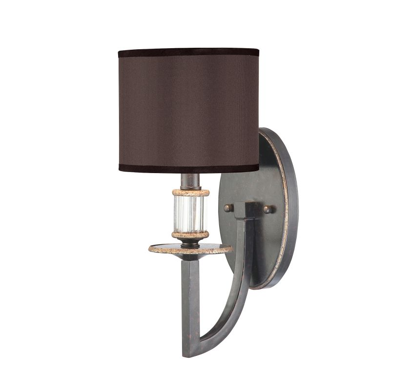 "Savoy House 9-1077-1 Modern Royale 1 Light 14"" Tall Wall Sconce"