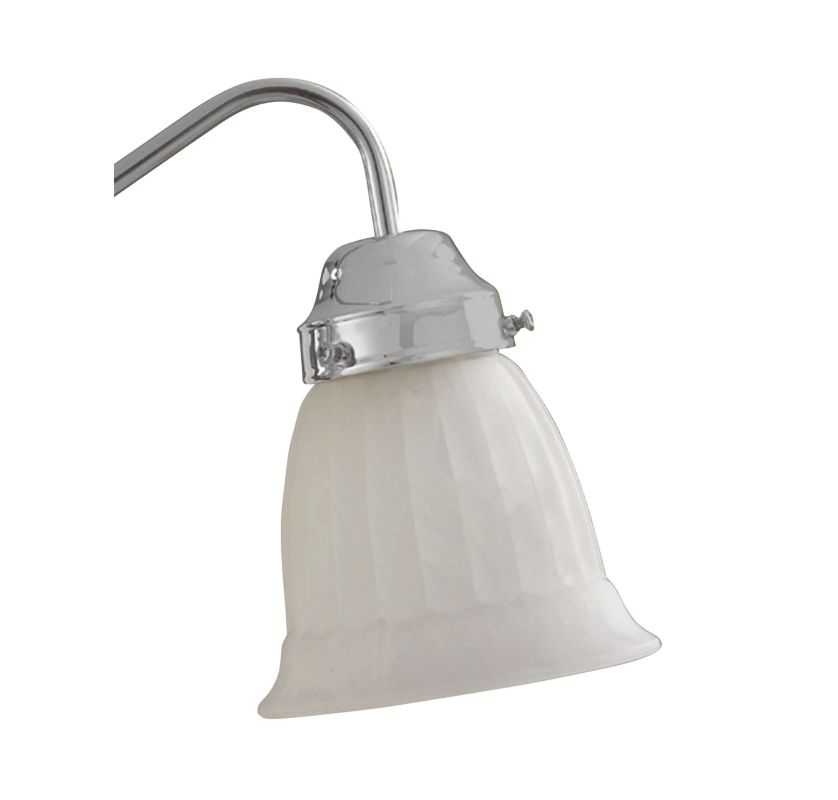 Savoy House GL764 White or Cream Marble Bell Glass Shade for the Savoy
