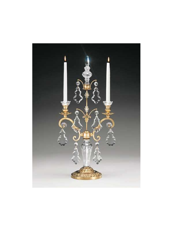 Schonbek 71002 Crystal Two Light Up Lighting Candelabra from the Sale $790.00 ITEM: bci1013520 ID#:71002-22 UPC: 771857052473 :