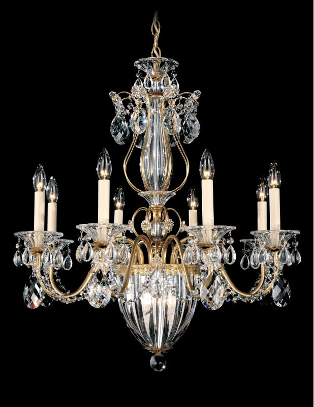 "Schonbek 1248 26 1/2"" Wide 11 Light Candle Style Chandelier from the"