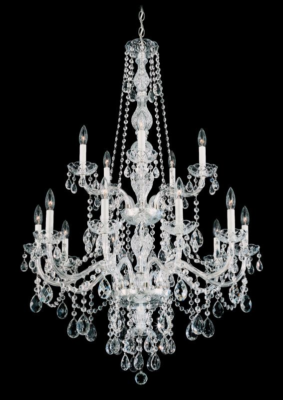 "Schonbek 1308 32"" Wide 15 Light Candle Style Chandelier from the Sale $2430.00 ITEM: bci2799019 ID#:1308-40 :"