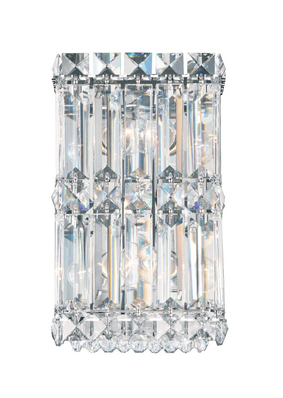 """Schonbek 2235 4 1/2"""" Wide 2 Light Ambient Wall Sconce from the Quantum Sale $698.00 ITEM: bci2807255 ID#:2235-401 UPC: 771857372847 :"""
