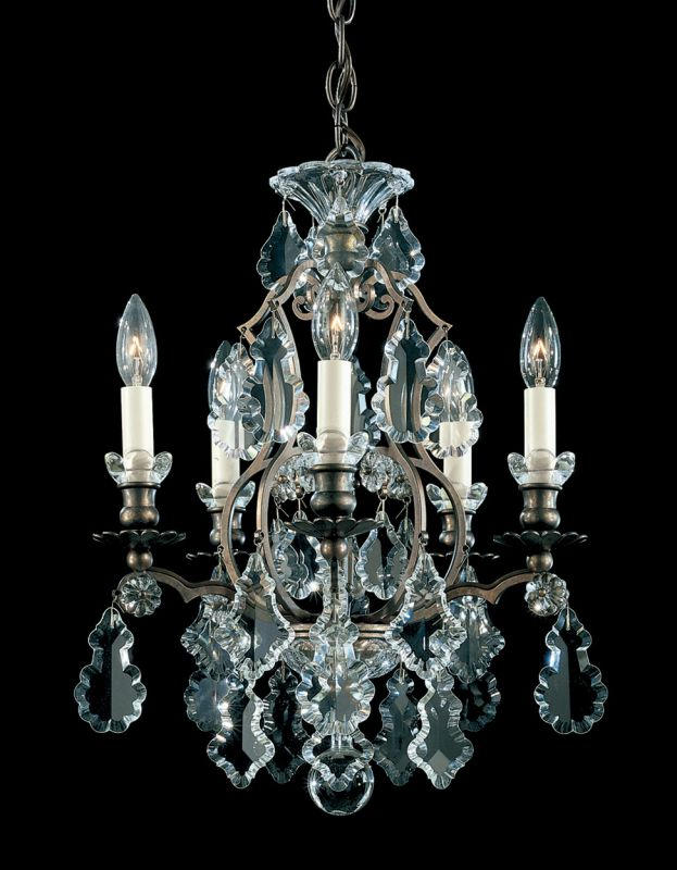 "Schonbek 2769 14 1/2"" Wide 5 Light Chandelier from the Versailles"